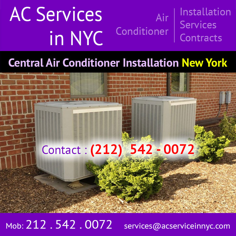 Central Air Conditioning Installation Near Me New York
