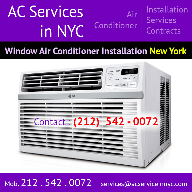 Split Air Conditioner Installation New York Queens